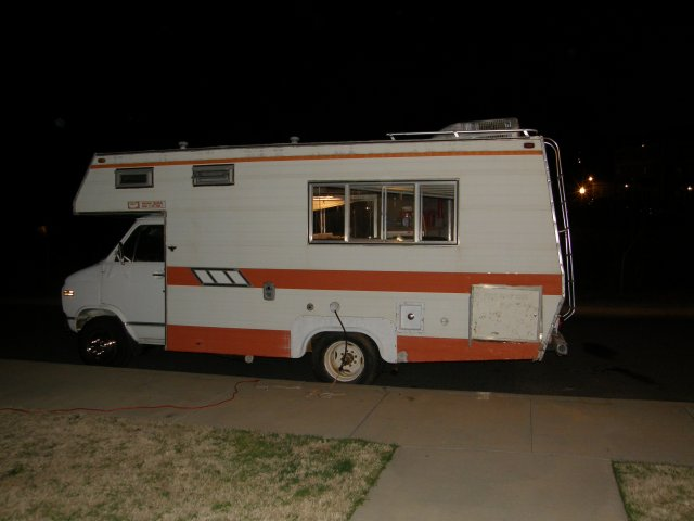 The night I bought the RV