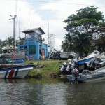 CR coast guard. These are drug boats that have been confiscated.
