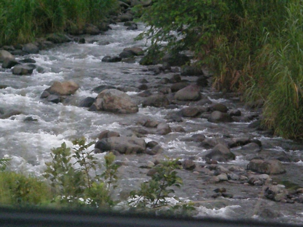in CR ALL rivers/creeks are whitewater